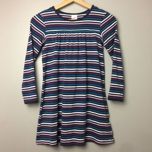Hanna Andersson Striped Play Dress Size 130/8